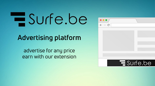 Surfe.be - Earnings on the Internet without investment
